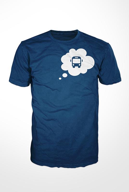 Camiseta Bus Thinking